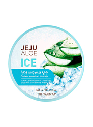 The Face Shop Jeju Aloe Refreshing Ice Gel, 300ml