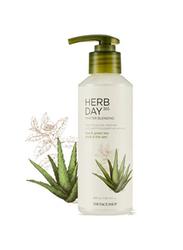 The Face Shop Herb Day 365 Master Blending Cleanser for Women, Aloe & Green Tea, 215ml
