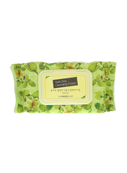 The Face Shop Herb Day Cleansing Tissue, 70 Wipes