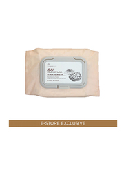 The Face Shop Jeju Volcanic Lava Pore Cleansing Wipes, 50 Wipes