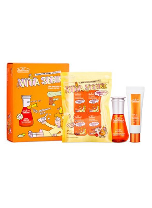 The Face Shop Dr. Belmeur Vitamin Edition Vita Serine Face Care Set, 10-Pieces