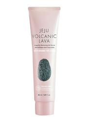 The Face Shop Jeju Volcanic Lava Impurity Removing Gel Scrub, 30ml