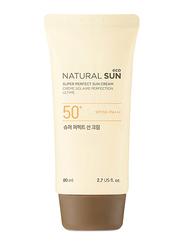 The Face Shop Natural Sun Eco Super Perfect Sun Cream SPF 50+ PA+++, 80ml