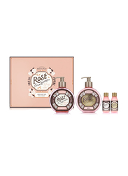The Face Shop Beyond Rose Silk-Bouquet Body Gift Set, 4 Pieces