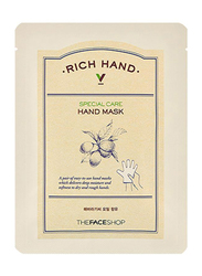 The Face Shop Rich Hand V Special Care Hand Mask, 2 Pieces