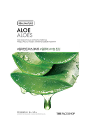 The Face Shop Real Nature Aloe Sheet Mask, 30ml