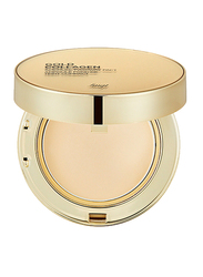 The Face Shop FMGT Gold Collagen Ampoule Two-Way Pact, 203, Beige