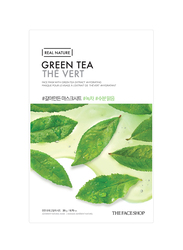 The Face Shop Real Nature Green Tea Face Mask, 20gm