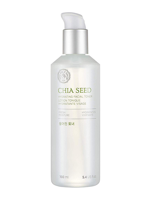 The Face Shop Chia Seed Hydrating Facial Toner, 145ml
