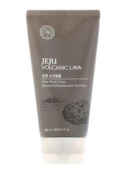 The Face Shop Jeju Volcanic Lava Scrub Foam, 150ml