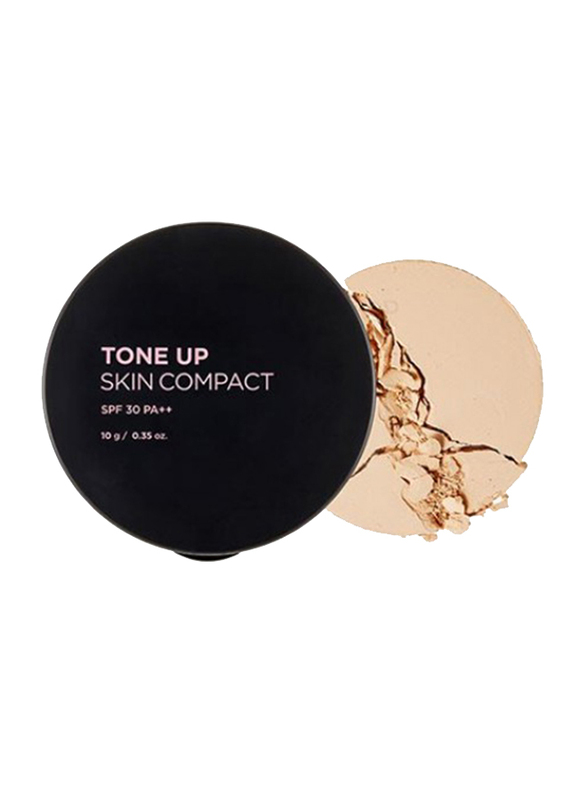The Face Shop FMGT Tone Up Skin Compact, 201 Apricot Beige