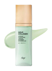 The Face Shop FMGT Gold Collagen Ampoule Makeup Base SPF30 PA++, 40ml, 01. Mint, Green