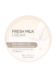The Face Shop Daegwallyeong Fresh Milk Cream, 300ml
