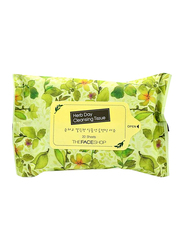 The Face Shop Herb Day Cleansing Tissue, 20 Wipes