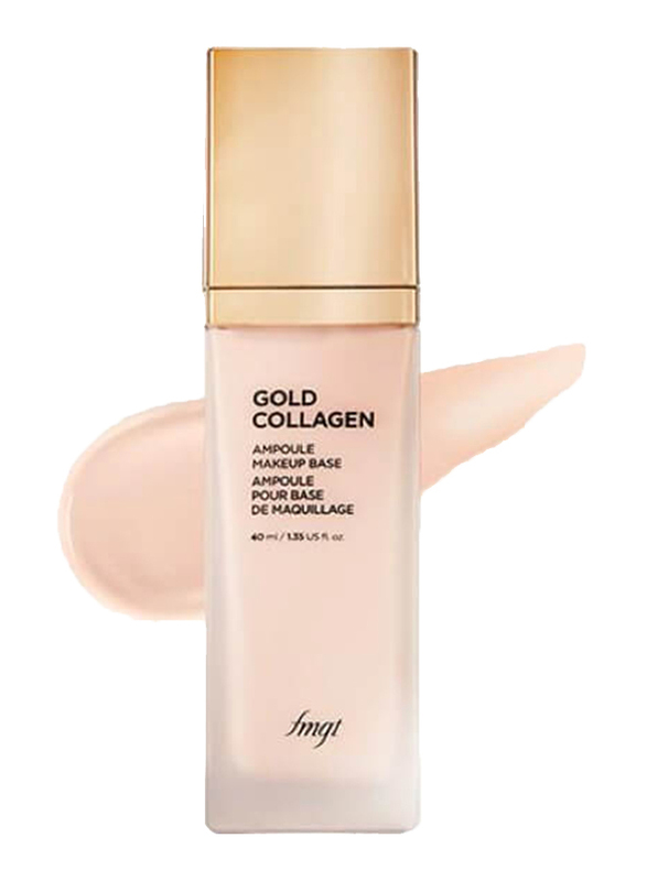 The Face Shop FMGT Gold Collagen Ampoule Makeup Base SPF30 PA++, 40ml, 01. Pink