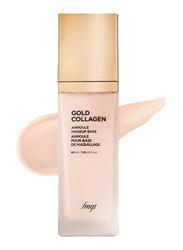 The Face Shop FMGT Gold Collagen Ampoule Makeup Base SPF30 PA++, 40ml, 01. Pink
