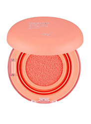 The Face Shop FMGT Moisture Cushion Blush, 01 Coral, Orange