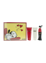 Moschino 3-Piece Cheap & Chic Gift Set for Women, 50ml EDT, 100ml Body Lotion, 100ml Shower Gel