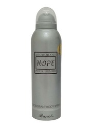 Rasasi Hope Deodorant Body Spray for Women, 200ml