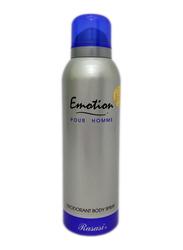 Rasasi Emotion Deodorant Body Spray for Men, 200ml