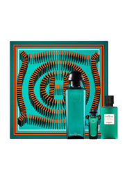 Hermes 3-Piece Eau d`Orange Verte Gift Set Unisex, 100ml EDC, 7.5ml EDC, 40ml Hair and Body Gel