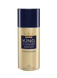 Antonio Banderas King Of Seduction Absolute Deodorants Spray for Men, 150ml