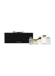 Dolce & Gabbana 5-Piece Gift Set for Women, 4.5ml Eau Intense Spray, 7.5ml the One Spray, 5ml Dolce Spray, 5ml the One Spray, 4.5ml Light Blue
