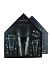 Issey Miyake 3-Piece Nuit D'issey Set for Men, 125ml EDT, 75ml Shower Gel, 50ml After Shave Balm