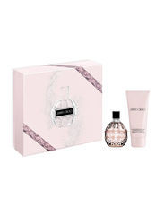 Jimmy Choo 2-Piece Gift Set for Women, 60ml EDP, 100ml Body Lotion