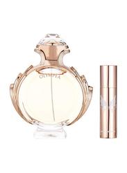 Paco Rabanne 2-Piece Olympea Perfume Set for Women, 80ml EDP, 10ml EDP
