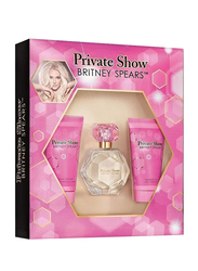 Britney Spears 3-Piece Private Show Gift Set for Women, 100ml EDP, 50ml Balm Lotion, 50ml Shower Gel