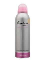 Rasasi Emotion Deodorant Body Spray for Women, 200ml