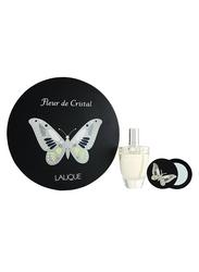 Lalique 2-Piece Fleur De Cristal Gift Set for Women, 100ml EDP, Mirror