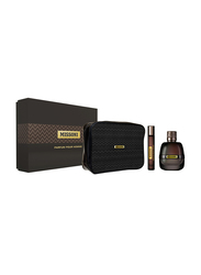 Missoni 3-Piece Gift Set EDP for Men, EDP 100ml, EDP 10ml, Pouch