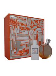 Hermes 2-Piece Eau des Merveilles Gift Set for Women, 50ml EDT, 40ml Body Lotion