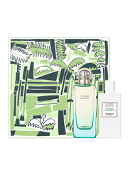 Hermes 2-Piece Un Jardin sur le Nil Gift Set Unisex, 100ml EDT, 80ml Body Lotion