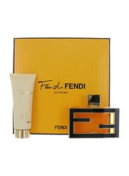 Fendi 2-Piece Extreme Gift Set for Women, 75ml EDP, 75ml Body Lotion