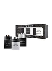 Bvlgari 3-Piece Perfume Set for Men, Man Extreme 15ml EDT, Man in black 15ml EDP, Man Cologne 15ml EDT