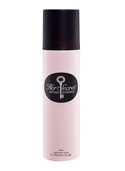 Antonio Banderas Her Secret Deodorants Spray for Women, 150ml