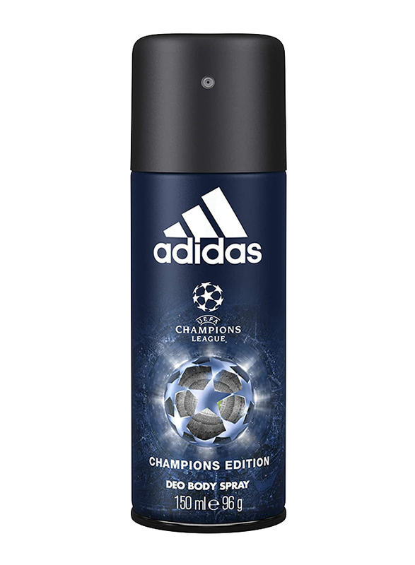 Adidas Champions Edition Uefa Champions League Deodorant Spray for Men, 150ml