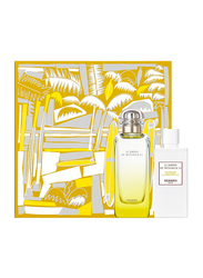 Hermes 2-Piece Le Jardin de Monsieur Li Gift Set Unisex, 100ml EDT, 80ml Body Lotion