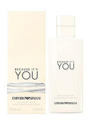 Giorgio Armani Emporio Because It's You Sensual Perfumed Body Lotion, 200ml