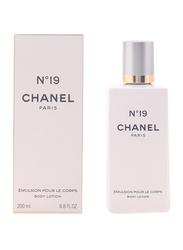 Chanel No°19 Body Lotion, 200ml