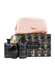 Bvlgari 3-Piece Goldea The Roman Night Gift Set for Women, 75ml EDP, 75g Body Lotion, 75ml Shower Gel
