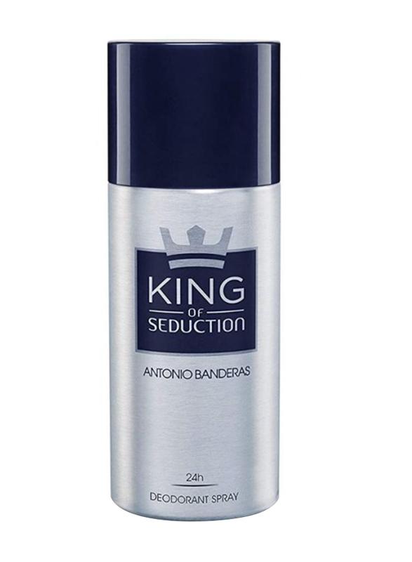 Antonio Banderas King Of Seduction Deo Spray for Men, 150ml