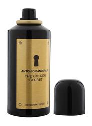 Antonio Banderas The Golden Secret Deo Spray for Men, 150ml