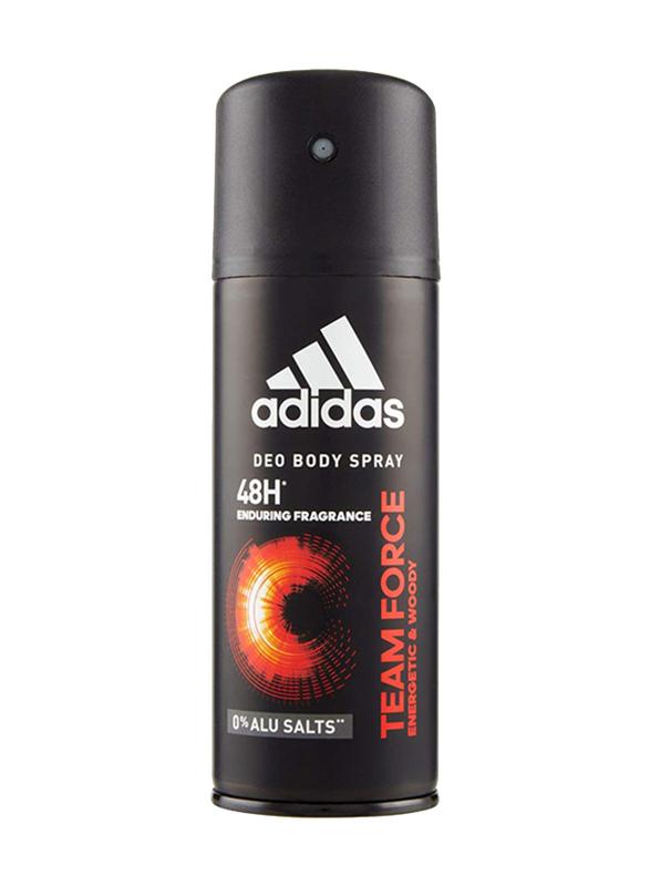Adidas Team Force Deodorant Body Spray for Men, 150ml