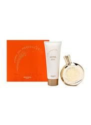 Hermes 2-Piece L'Ambre des Merveilles Gift Set Unisex, 100ml EDP, 80ml Body Lotion