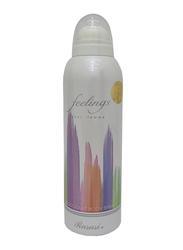 Rasasi Feelings Deodorant Body Spray for Women, 200ml