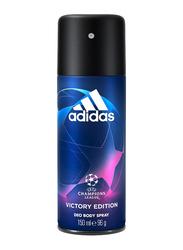 Adidas Victory Edition Champions League Deodorant Body Spray for Men, 150ml